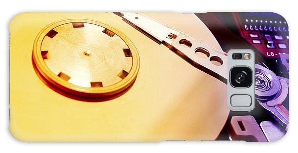 Hard Disk Detail Galaxy Case