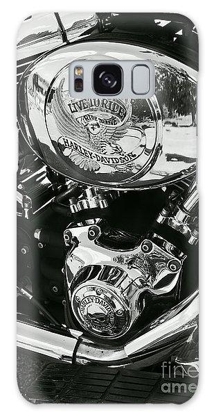 Harley Davidson Bike - Chrome Parts 02 Galaxy Case