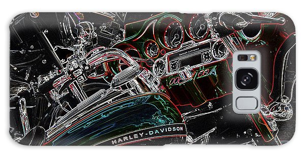 Harley Davidson Style 4 Galaxy Case