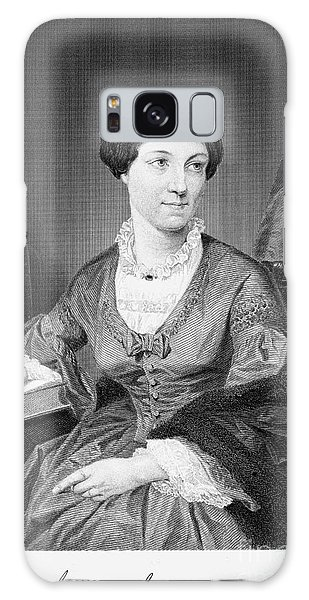 Paper Dress Galaxy Case - Harriet Martineau by Granger