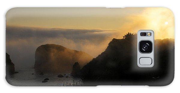Harris Beach Sunset Panorama Galaxy Case