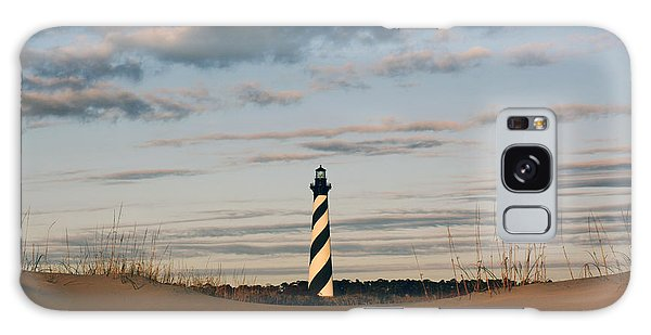 Hatteras Lighthouse And The Smiling Dune Galaxy Case by Tony Cooper