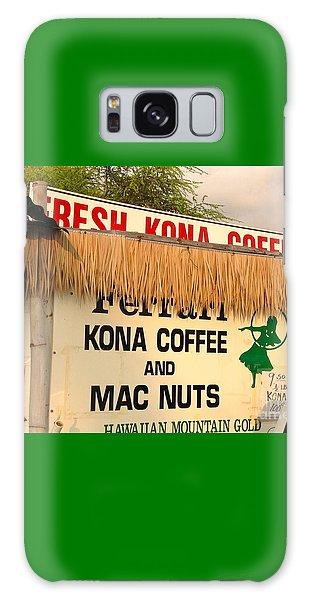 Hawaiian Food Truck Galaxy Case by Beth Saffer