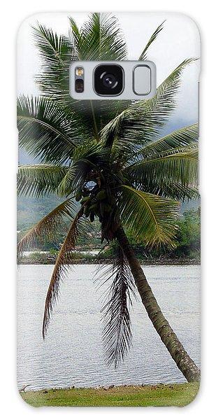Hawaiian Palm Galaxy Case by Athena Mckinzie