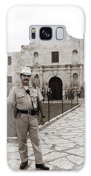 He Guards The Alamo Galaxy Case