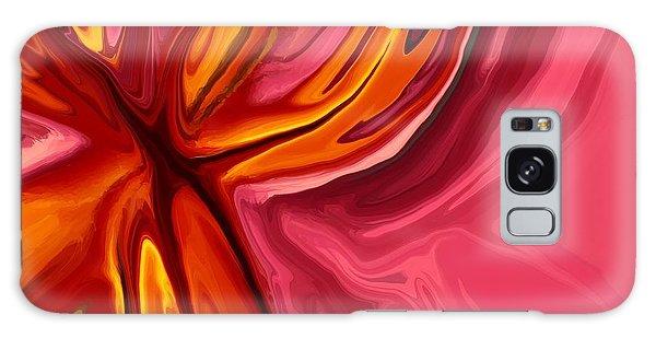 Heartache Galaxy Case - Heartache by Chris Butler