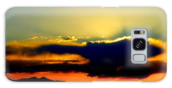 Heaven Is Watching Galaxy Case by Jeanette C Landstrom
