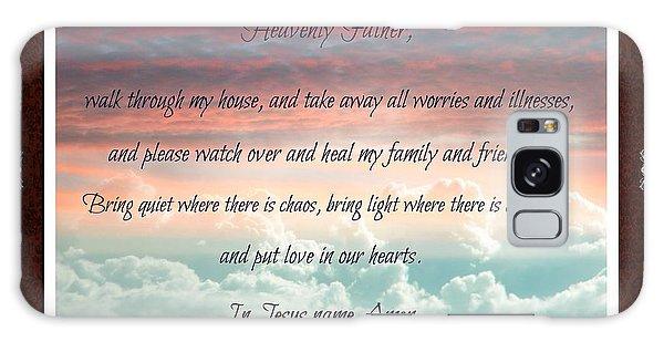 Heavenly Father Prayer Galaxy Case