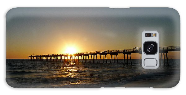 Hermosa Beach Sunset Galaxy Case