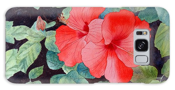 Hibiscus Galaxy Case