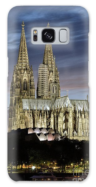 Galaxy Case featuring the photograph High Cathedral Of Sts. Peter And Mary In Cologne by Heiko Koehrer-Wagner