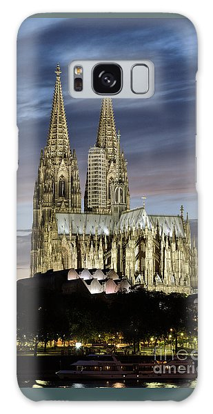 High Cathedral Of Sts. Peter And Mary In Cologne Galaxy Case