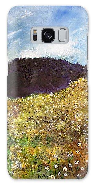 High Field Of Flowers Galaxy Case