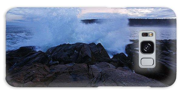 Otter Rock Galaxy Case - High Tide At Dusk by Rick Berk