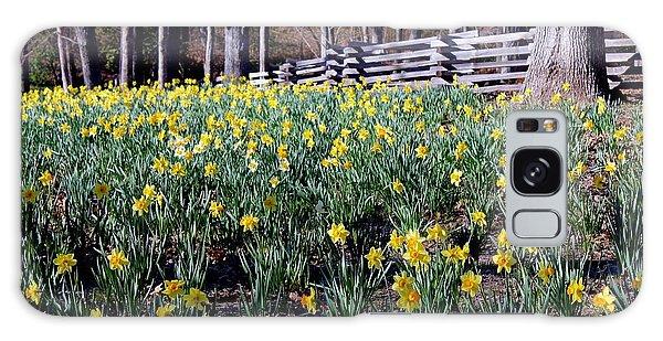Hills Of Daffodils Galaxy Case