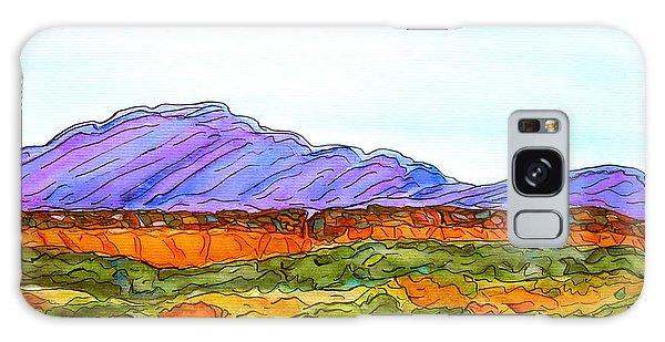 Hills That Nourish Galaxy Case