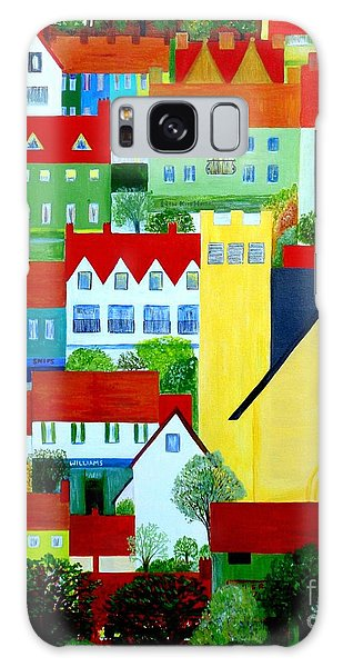 Hillside Village Galaxy Case