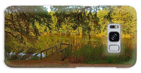 Hobcaw Barony Pond Galaxy Case