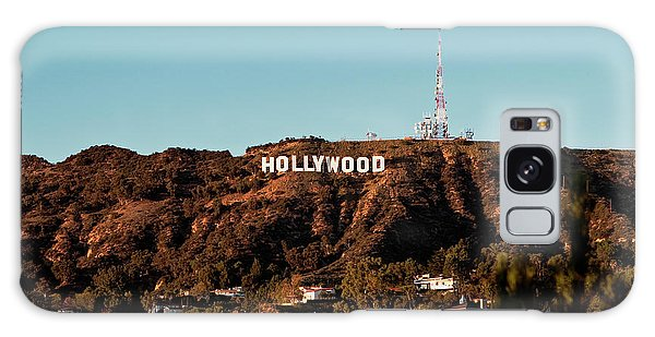 Hollywood Sign At Sunset Galaxy Case