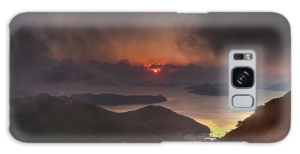 Hongpo Sunset South Korea  Galaxy Case by Gabor Pozsgai