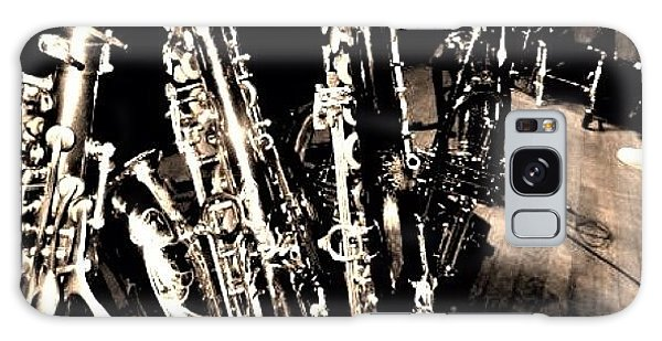 Music Galaxy Case - Horns #horns #housemusic #jazz #music by David Sabat