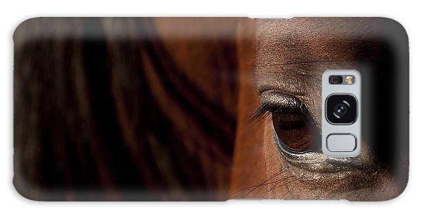 Horse Eye Galaxy Case by Michael Mogensen