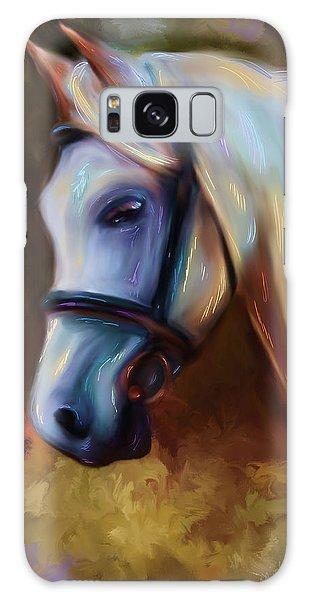 Horse Of Colour Galaxy Case