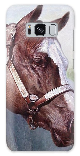 Horse Portrait 2 Galaxy Case