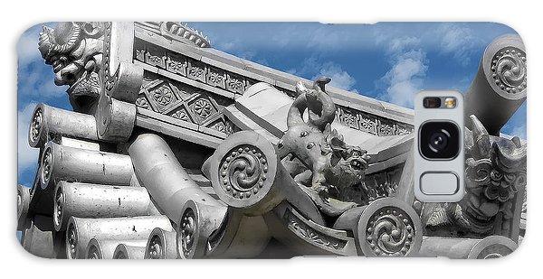 Kansai Galaxy Case - Horyu-ji Temple Roof Gargoyles - Nara Japan by Daniel Hagerman