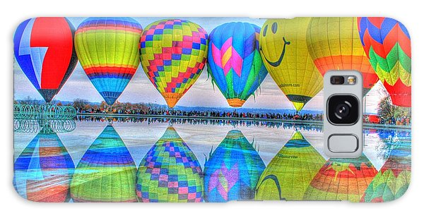 Hot Air Balloons At Eden Park Galaxy Case