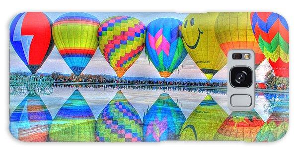 Hot Air Balloons At Eden Park Galaxy Case