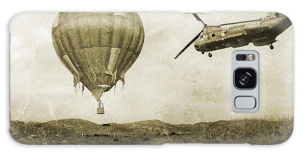 Hot Air Balloons Galaxy Case - Hot Air Cool Air by Betsy Knapp
