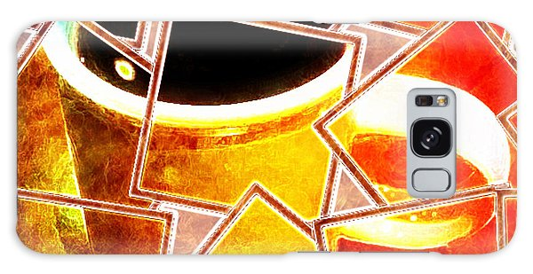 Hot Coffee 01 Galaxy Case by Ana Tirolese