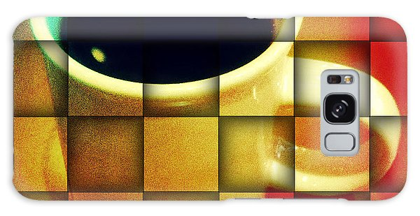 Hot Coffee 02 Galaxy Case by Ana Tirolese