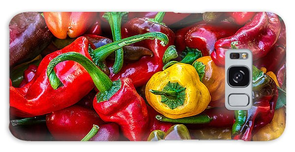 Hot Pepper Time Galaxy Case by Ken Stanback