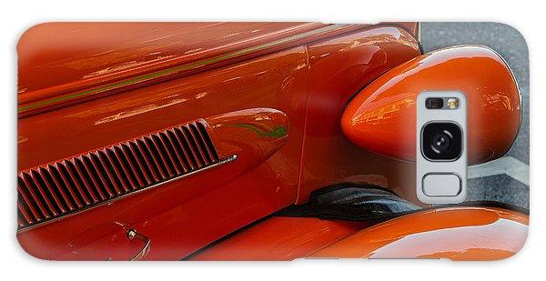 Hot Rod Orange Galaxy Case by Ken Stanback