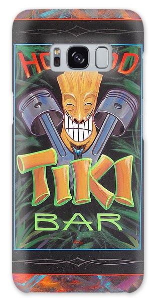 Hot Rod Tiki Bar Galaxy Case by Alan Johnson