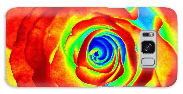 Hot Rose Galaxy Case