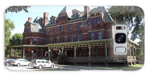 Hotel Florence Chicago Illinois Galaxy Case by Cedric Hampton