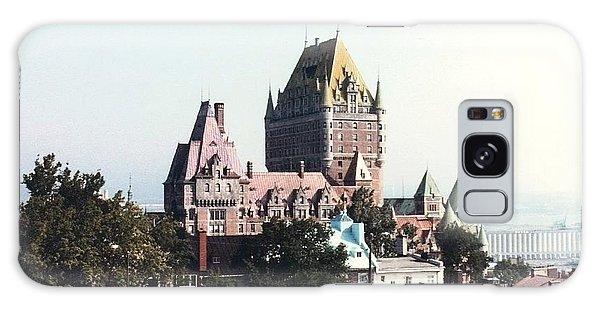 Hotel Frontenac Quebec Canada Galaxy Case by Cedric Hampton