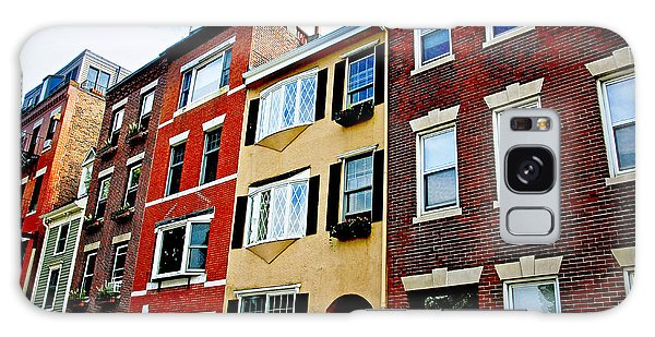 Brick House Galaxy Case - Houses In Boston by Elena Elisseeva