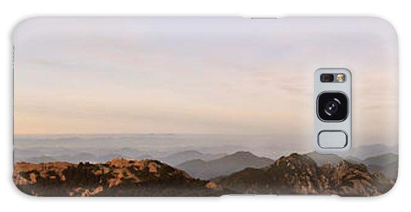 Huangshan Sunrise Panorama 2 Galaxy Case