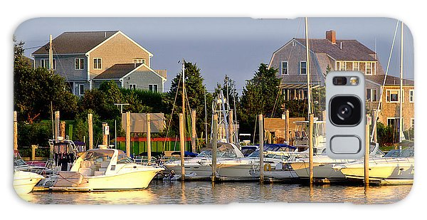 Powerboat Galaxy Case - Hyannis Harbor At Sunset by Matt Suess