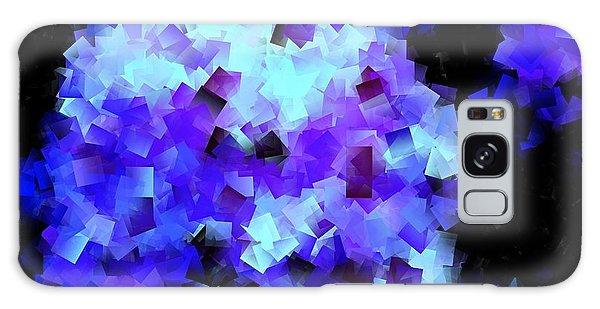 Hydrangea Cubed Galaxy Case by Greg Moores