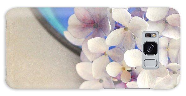 Hydrangeas In Blue Bowl Galaxy Case by Lyn Randle