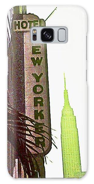 I Love New York Galaxy Case by Beth Saffer