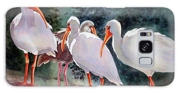Ibis - Youngster Among Us. Galaxy Case by Roxanne Tobaison
