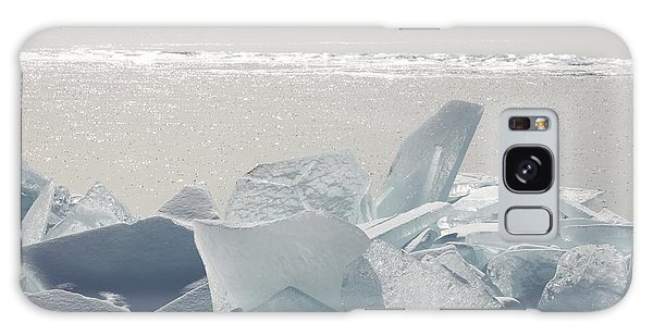 Ice Chunks On The Shores Of Lake Galaxy Case
