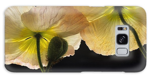 Iceland Poppies 2 Galaxy Case by Susan Rovira