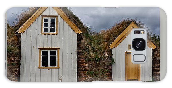 Icelandic Turf Houses Galaxy Case